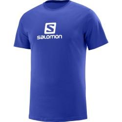 Salomon COTTON LOGO SS TEE M SURF THE WEB