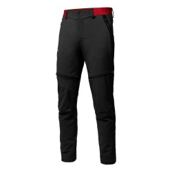 Salewa PEDROC DURASTRECH CORDURA® PANTALONI ZIP-OFF UOMO BLACK OUT