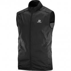 Salomon AGILE WIND VEST M BLACK
