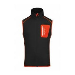 Ortovox FLEECE VEST M MERINO FLEECE black raven