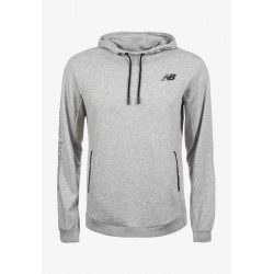 New Balance 247 Sport Hooded Pullover Athletic Grey