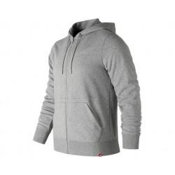 New Balance Essentials Full Zip Hoodie Athletic Grey
