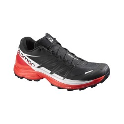 Salomon S-LAB WINGS 8 SG BLACK/RACING RED/WHITE