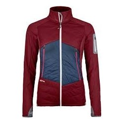 Ortovox SWISSWOOL PIZ ROSEG JACKET W dark blood