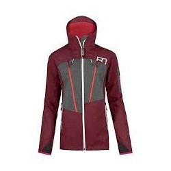 Ortovox PORDOI JACKET W MERINO NATURETEC PLUS DARK BLOOD
