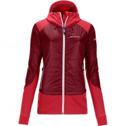 Ortovox SWISSWOOL PIZ PALÜ JACKET W DARK BLOOD