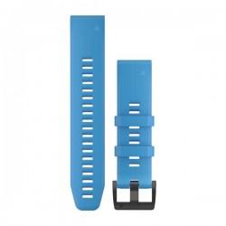 Garmin Cinturini per orologio QuickFit™ 22 Silicone blu ciano