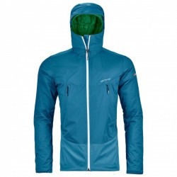 Ortovox 2L SWISSWOOL LEONE JACKET M BLUE SEA