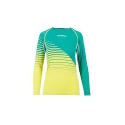 La Sportiva TUNE LONG SLEEVE W emerald/apple green