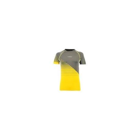 La Sportiva COMPLEX T-SHIRT M carbon/yellow
