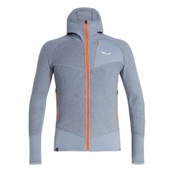 Salewa ORTLES 2 PTC HIGHLOFT M FULL-ZIP HOODY GREY/FLINT STONE