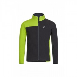 Montura STRETCH SYNCRO JACKET KIDS PIOMBO/VERDE