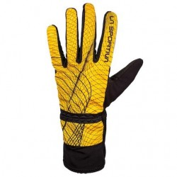 La Sportiva WINTER RUNNING GLOVE MAN YELLOW/BLACK