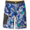 The North Face SHORT BAMBINO MARKER BLUE PINEAPPLE PRINT