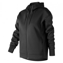New Balance Sport Full Zip Hoodie donna black
