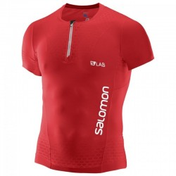 Salomon S-LAB EXO HZ SS TEE M RACING RED