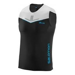 Salomon S-LAB SENSE TANK M BLACK/WHITE
