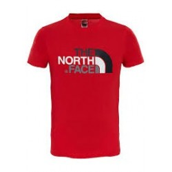 The North Face T-SHIRT BAMBINI EASY high risk red
