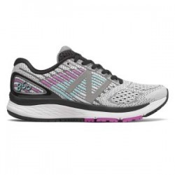 New Balance 860v9 White with Voltage Violet & Black