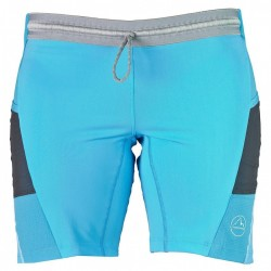 La Sportiva BLAZE TIGHT SHORT W MALIBLU BLUE/WHITE