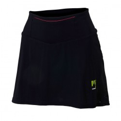 Karpos LAVAREDO RUN SKIRT BLACK/PINK FLUO
