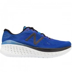 New Balance Fresh Foam More UV Blue with Black