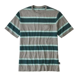 Patagonia Patagonia Men's Squeaky Clean Pocket Tee Rugby: Feather Grey