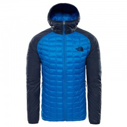 The North Face GIACCA THERMOBALL SPORT HOODY TURKISH SEA/URBAN NAVY