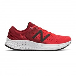 New Balance Fresh Foam 1080v9  Energy Red with NB Scarlet & Black