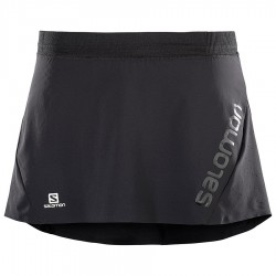 Salomon LIGHTNING PRO SKORT W WOMEN black