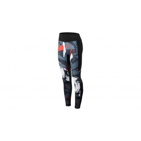 Printed Impact Tight Velocity Red with Black & White