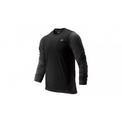 Q Speed Run Crew Pullover Heather Charcoal