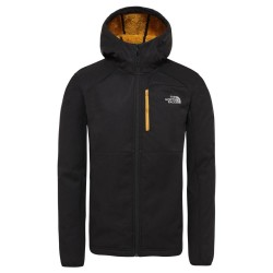 The North Face GIACCA SOFTSHELL UOMO QUEST  TNF BLACK