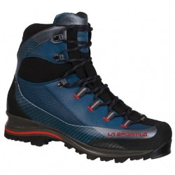 La Sportiva TRANGO TRK LEATHER GTX CARBON/GREEN