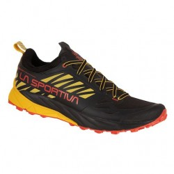 La Sportiva KAPTIVA GTX FOOTWEAR MOUNTAIN RUNNING - MAN black/yellow