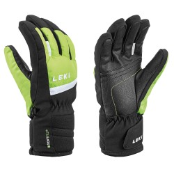 Leki MAX JUNIOR guanti black/lime/white