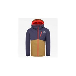 The North Face GIACCA BAMBINI SNOWQUEST PLUS BRITISH KHAKI