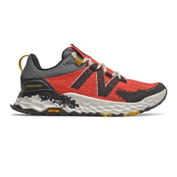 New Balance HIERRO V5 W Toro Red with Black & Chromatic Yellow