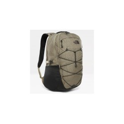 The North Face ZAINO BOREALIS BURNT OLIVE GREEN RAIN CAMO PRINT/TNF BLACK