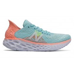 NEW BALANCE Fresh Foam 1080v10 W Bali Blue with Ginger Pink & Lemon Slush
