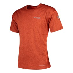 Columbia Irico™ Knit Short Sleeve Crew da uomo wildfire