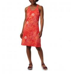 Columbia Abito in maglia Peak To Point™ da donna Bright Poppy Got Florals Black
