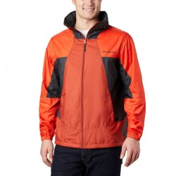 Columbia Point Park™ Windbreaker M Carnelian Red, Wildfire, Shark