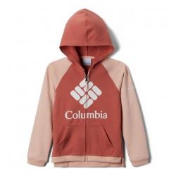 COLUMBIA Felpa con cappuccio Columbia™ Branded French Terry Full Zip da bambina
