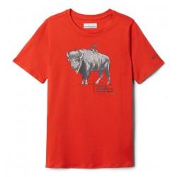 COLUMBIA T-shirt Peak Point™ da bambino Wildfire Sharkalo Dark Mountain Sharkalo