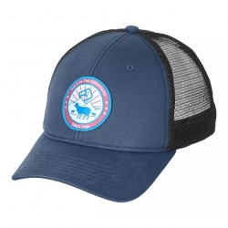 Ortovox STAY IN SHEEP TRUCKER CAP CAPPELLINO night blue
