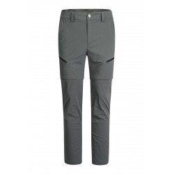MONTURA MOVING ZIP OFF REG. FIT PANTS CHROME GREY