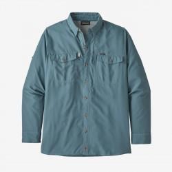 Patagonia Men's Long-Sleeved Sol Patrol™ II Shirt pigeon blue