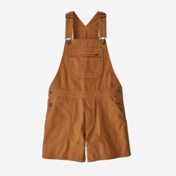 "Patagonia Women's Stand Up Overalls - 5"" umber brown"