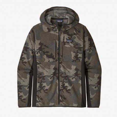 Patagonia Men's Lightweight Better Sweater™ Fleece Hoody river delta:forge grey